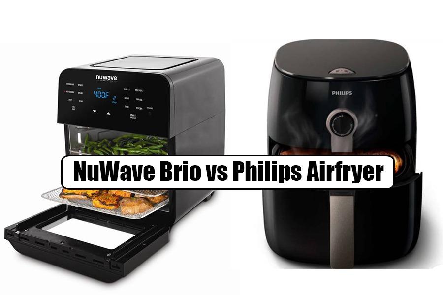 NuWave Brio Vs Philips Airfryer