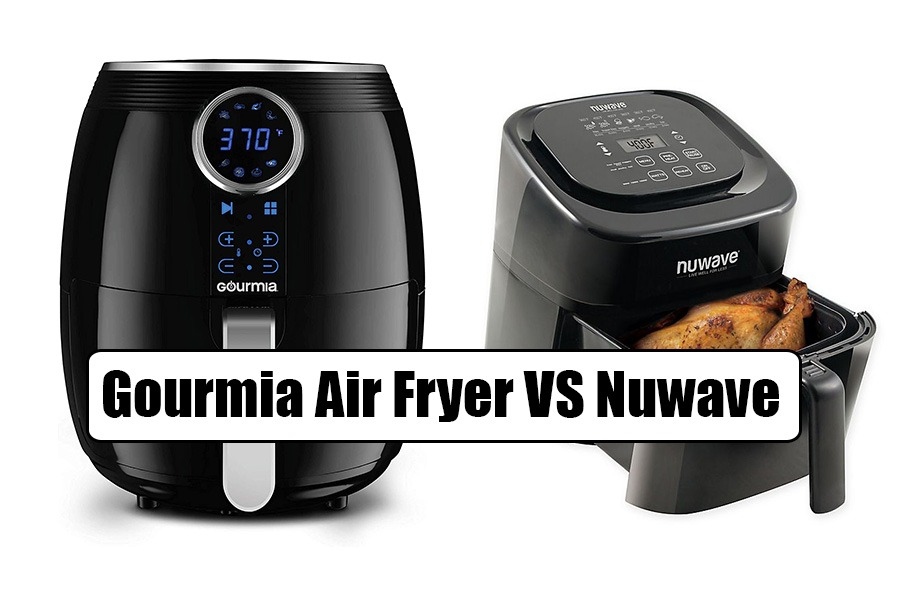 Gourmia Air Fryer vs Nuwave