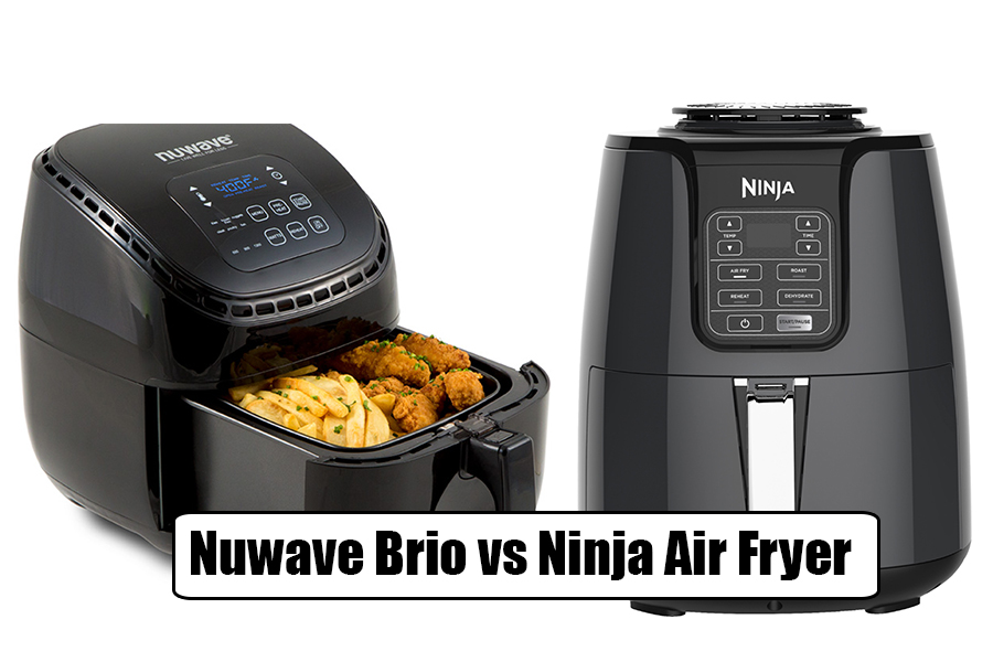 Nuwave Brio vs Ninja Air Fryer