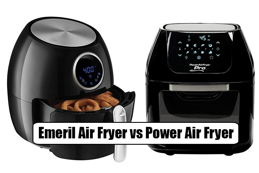 PowerXL Air Fryer Grill vs Emeril Lagasse 360 Toaster Oven