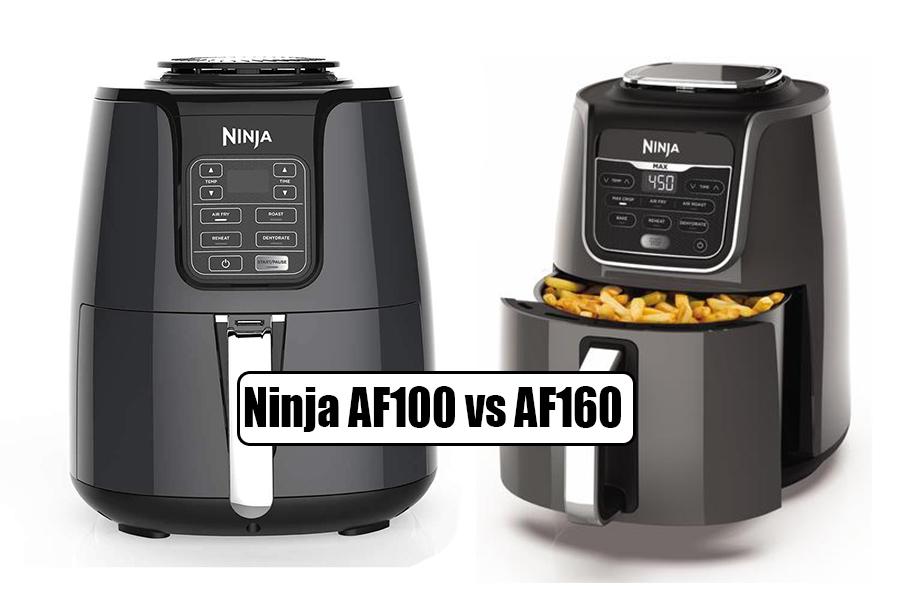 Ninja AF100 vs AF160