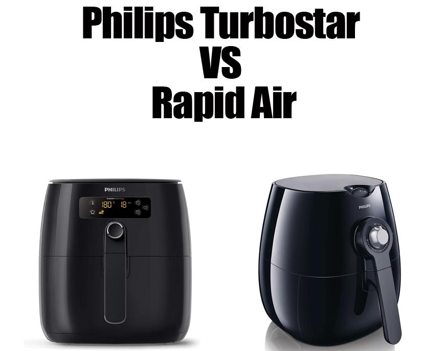 Philips Turbostar VS Rapid Air